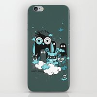 Nocturnal Friends iPhone & iPod Skin