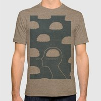 daydreamer Mens Fitted Tee Tri-Coffee SMALL
