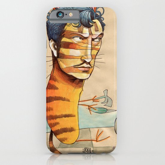 EASY, TIGER iPhone & iPod Case