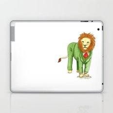 Lion in suit Laptop & iPad Skin