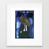 Avvocato Framed Art Print