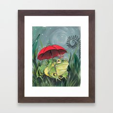 Rainy day Prince Framed Art Print