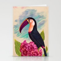 Mr. Toucan Stationery Cards