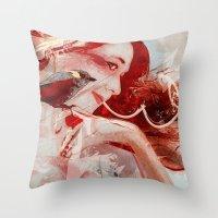 Songbird- Version2 Throw Pillow