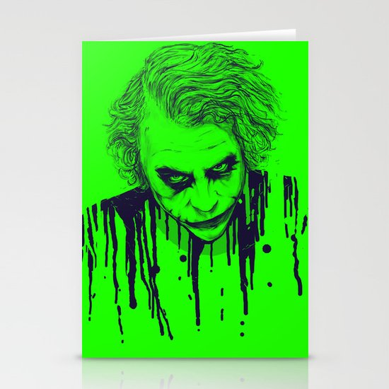 The Joker Stationery Card
