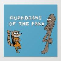 Guardians Of The Park Canvas Print