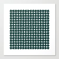 #256 Two-hundred and fifty-six squares – Geometry Daily Canvas Print