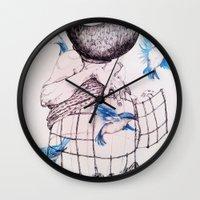 Human flight Wall Clock
