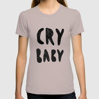 baby Womens Fitted Tee Cinder SMALL