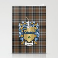 Thompson Crest and Tartan Stationery Cards