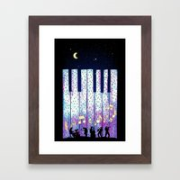 Harmony In The Night Framed Art Print