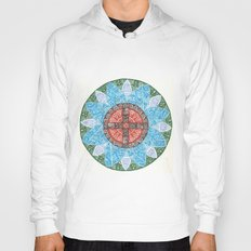 stained flower Hoody