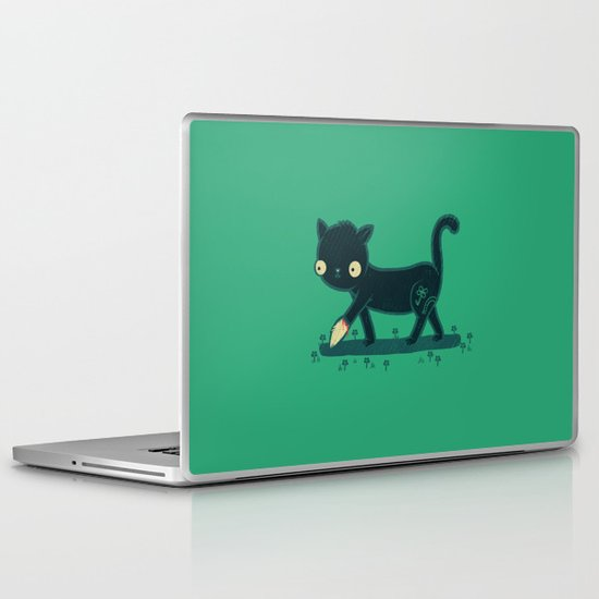 Make Your Own Luck Laptop & iPad Skin