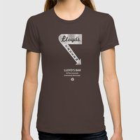 Lloyd's Supernatural Womens Fitted Tee Brown SMALL