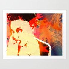 Firebrand X Art Print