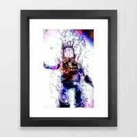 Back From The Brink Framed Art Print
