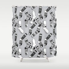Sock It To Me Shower Curtain