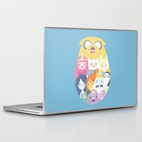 adventure Laptop & iPad Skins featuring Adventure by Eva Puyal