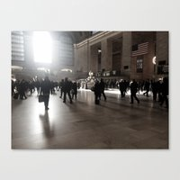 Early Morning, Grand Central Canvas Print