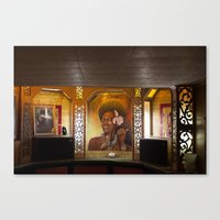 Hot Dogs & Tiki Bars Canvas Print