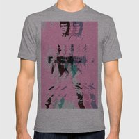 FPJ Pretty In Pink Mens Fitted Tee Athletic Grey SMALL