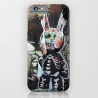 Dead bunny iPhone 6 Slim Case