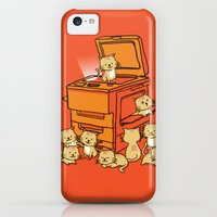 iPhone 5c Cases featuring The Original Copycat by Budi Kwan