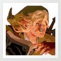 Link Get! Art Print