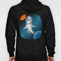 Shark In Space Hoody