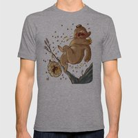 Carl Bear Vs. The Bees Mens Fitted Tee Athletic Grey SMALL