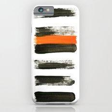orange stripes Slim Case iPhone 6s