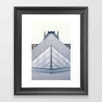 Louvre Framed Art Print