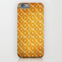 Yellow Pattern iPhone 6 Slim Case
