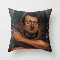 Agoriphobia Throw Pillow