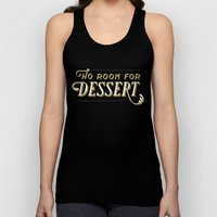 No Room For Dessert Unisex Tank Top