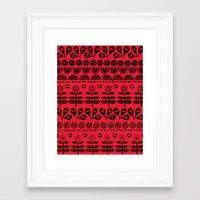 Gran's Blanket Framed Art Print