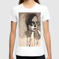 sugar skull T-shirts featuring sugar skull  by Joedunnz