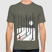 Little Red Cap Mens Fitted Tee Lieutenant SMALL