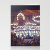 Another Carousel  Stationery Cards