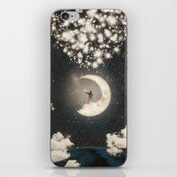 The Big Journey of the Man on the Moon  iPhone & iPod Skin