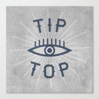 Tip Top Canvas Print