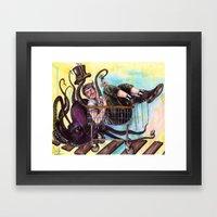 Mr. Whiplash Framed Art Print