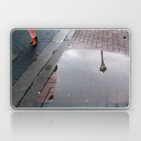 Dublin puddle Laptop & iPad Skin