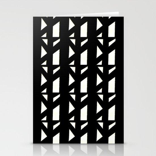 Marsman Black & White Pattern Stationery Card