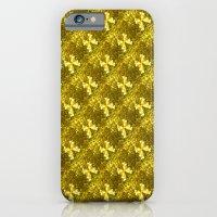 Golden Bows  iPhone 6 Slim Case