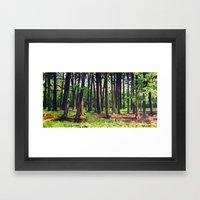 Reveal Framed Art Print