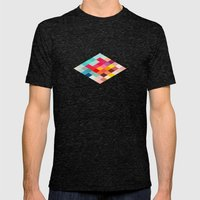 Squared Mens Fitted Tee Tri-Black SMALL