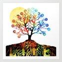 Spiritual Art - Tree Of Life Art Print