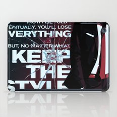 Keep the style iPad Case