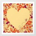 Sweetheart Ivory Art Print